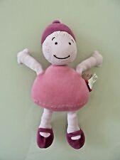 *- Doudou poupée Fille Lutin MARESE rose et violet  Bobigny HT29  Excellent Etat