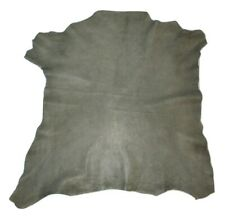 Marbled Gray Grain Sheepskin Leather Hide Sheep Skin