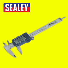 Sealey Premier Digital Vernier Caliper Calibrador De Precisión Calibrador Herramienta de medición