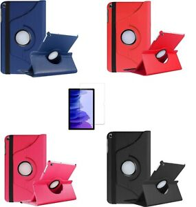 Funda Samsung Galaxy Tab A7 2020 T500 T505 Tablet GIRATORIA + Protector Cristal