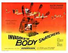 Invasion Of Body Snatchers 1956 Poster 02 A2 Box Canvas Print