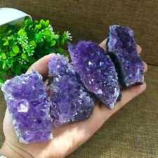 1Kg Natural Amethyst Quartz Geode Druzy Crystal Cluster Healing Specimen Decor