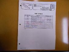 1995 Sea Doo Parts Accessories Factory Service Index