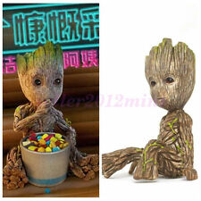 """Cute 2"""" Guardians of The Galaxy Vol. 2 Baby Sitting Groot Figure Toy Gift DE"""