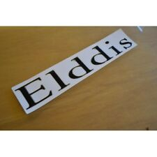ELDDIS Motorhome Name Sticker Decal Graphic - (RESIN DOMED)(STYLE 2) - SINGLE