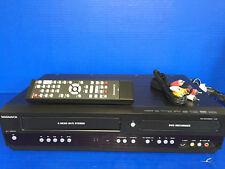 Magnavox MDR161V DVD Recorder/VHS Recorder DVD/VCR Combo 2-Way Dubbing w/Remote