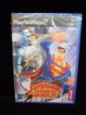 Superman:Sombra de Apokolips nuevo y precintado playstation 2