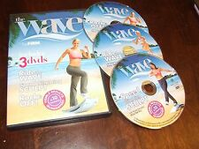 The Wave The Firm 3 DVD set ride the wave speed slimming sculpt rock it off fit