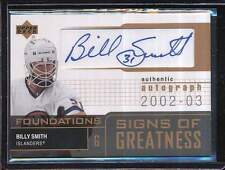 BILLY SMITH 2002-03 UD UPPER DECK AUTO AUTOGRAPH