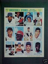 1969 Seaver New York Mets Baseball UNCUT Sheet Mint