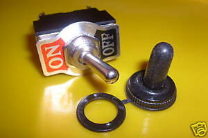 HEAVY  DUTY  ON/OFF  TOGGLE  SWITCH & WATERPROOF COVER