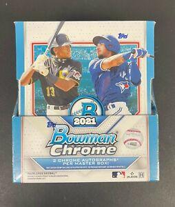 2021 Bowman Chrome Sealed Hobby Box 2 Autographs Per Master Box