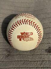 1982 World Series Baseball Rawlings ORIGINAL HAITI St Louis Cardinals MINT COND