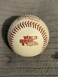 1982 World Series Baseball Rawlings ORIGINAL HAITI St Louis Cardinals MINT COND