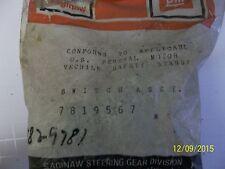 1977 1978 Corvette Headlight Dimmer Switch 7819567 / 7829781 NOS