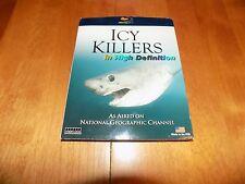 ICY KILLERS National Geographic SALMON SHARK Sharks Alaska Alaskan Blu-Ray Disc