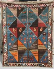 1900 Kazak Caucasian Rug . Modern Art Design From 19th C. …