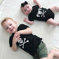 Toddler Kids Baby Halloween Costume Girl Romper Jumpsuit Outfits Boy T Shirt Top
