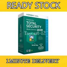 KASPERSKY TOTAL SECURITY GLOBAL KEY 2020 ANTIVIRUS FOR PC/MAC/ANDROID