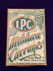 Vintage Antique Mildura Sultana Currents Cardboard Packet Imperial 14oz Complete