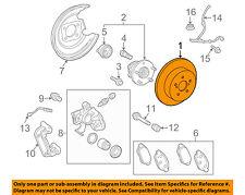 TOYOTA OEM Rear Brake-Rotor 4243112310