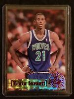 1995-96 TSC Draft Pick Kevin Garnett RC Topps Stadium Club Timberwolves