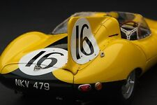 Exoto XS 1957 Ecurie Francorchamps Jaguar D-Type / Le Mans / 1:18 / #RLG89002C