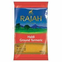 Rajah Haldi Turmeric Powder - 100g Curcuma Powder