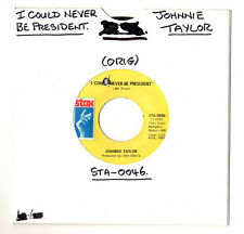 "SOUL.JOHNNIE TAYLOR.I COULD NEVER BE PRESIDENT / IT'S AMAZING.U.S.ORIG 7"".EX"