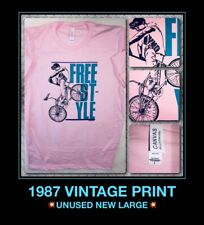 VTG 80s BMX haro mongoose freestyle rad bicycle hutch redline GT NEW T-Shirt L