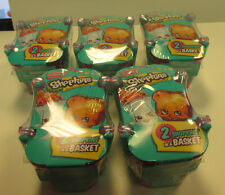 Shopkins Season 3 (2 pack) baskets, lot of 5