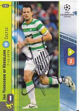 Jan Hesselink FC Celtic Glagow Panini Card Uefa Champions Leaque 2008-09 +A36972