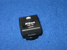 Nikon AS-15 sync adaptateur de terminal (hot shoe to pc) D5500 D3300 D750 D610 D7200