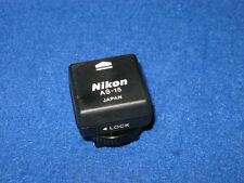 Nikon AS-15 Sync Terminal Adapter (Hot Shoe to PC) D5500 D3300 D750 D610 D7200