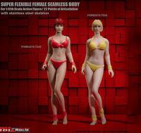 "TBLeague T03 1/12 Phicen Seamless Body Head Doll Female Figure Model 6"" Action"