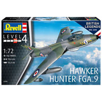 REVELL 100 Years RAF: Hawker Hunter FGA 1:72 Aircraft Model Kit 03908