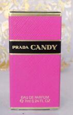 PRADA CANDY 7 ML(.25 0Z) EAU DE PARFUM NEW IN BOX HARD TO FIND