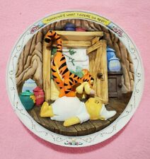 """""""Bouncing's What Tigger Do Best"""": Winnie The Pooh 3D Plate/Bradford Exchange"""