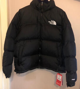 The North Face Nuptse 1996 Retro Black Size Medium Brand New With Tags