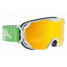 Alpina Adult Goggles Phoes S Multi Mirror White Green Winter Sports Accessories