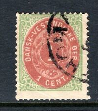 DANISH WEST INDIES Stamp Lot #1: 1874 Scott #5, Used (Small crease)