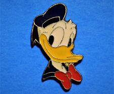 DONALD DUCK - FACE - VINTAGE DISNEY LAPEL PIN - HAT PIN - PINBACK