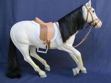 "Battat White Galloping Arabian Horse for 18"" American Girl / Our Generation Doll"