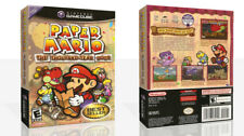 - Paper Mario The Thousand Year Door Case + Box Art Work Cover Only