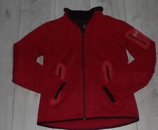 "Arcteryx Polartec Sweatshirt Fleece Jacket ""M"" Womens Red Ladies Jacke"