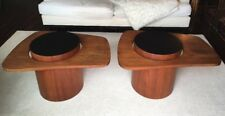 "Teak Expo 67 Pair ""Martini"" Tables by RS Associates MID CENTURY MODERN Vintage"