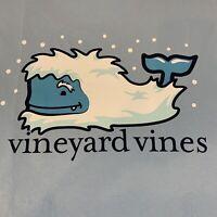 Vineyard Vines Men's Yeti Snow Whale L/S Grey Pocket T-shirt Sz XL-NEW TAGS