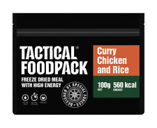 TACTICAL FOODPACK® Curry Chicken and Rice 2er Pack 200g Curry Hühnchen und Reis