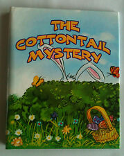 """Children's Personalized Book, """"The Cottontail Mystery"""", Gift for Easter"""