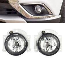 1Pair LH+RH Fog Lights Bumper Lamps for Mitsubishi Outlander Sport ASX RVR 10-15